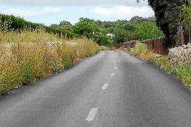 Manacor exige la retirada de la maleza de las carreteras por seguridad