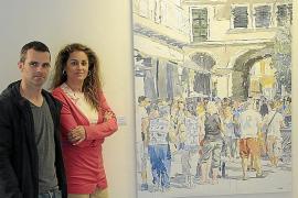 Tomeu Morey explora nuevos formatos en el retrato de una Ciutat más transitada