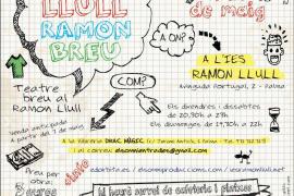 Los alumnos del IES Ramon Llull idean las obras de 'Teatre Llull Ramon Breu'