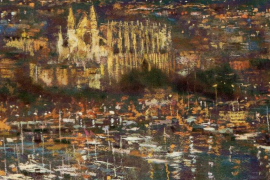 Llorenç Gual expone sus pinturas en Palma
