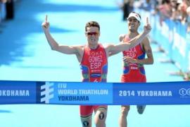 Gómez Noya y Mola deciden el triatlón de Yokohama al esprint