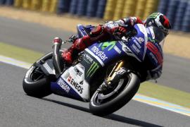 Lorenzo:  «Voy a tratar de terminar en el podio»