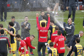 Celebración del Atlético de Madrid