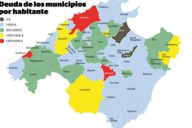 Tres municipios de la Isla tienen una deuda por habitante superior a los 1.500 euros