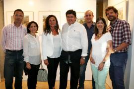 Exposición de pintura de Llorenç Gual