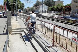 El Consistorio de Santa Maria se queja de las obras que SFM ejecuta en la estación de tren