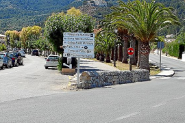 El Consell proyecta construir una rotonda en el principal acceso al pueblo