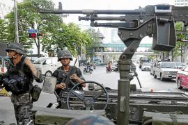 El Ejército tailandés declara la ley marcial para frenar las protestas