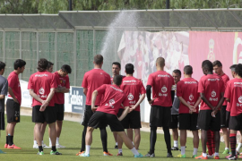 Olaizola y Alomar ya entrenan al Mallorca