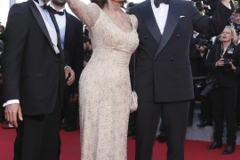 Sophia Loren deslumbra en Cannes