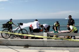 Rescatado un hombre en estado crítico en Can Pere Antoni