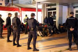 Redada en la Platja de Palma contra la prostitución y la venta ambulante