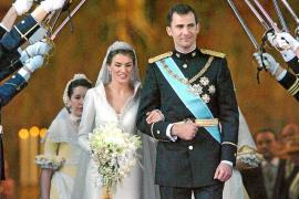 Felipe y Letizia, diez años juntos