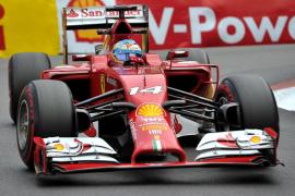 Alonso, mejor tiempo en la segunda tanda de libres del GP de Mónaco