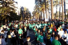 Cerca de 3000 personas han participado en la manifestación