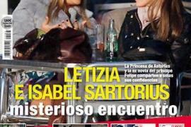 Cita de Letizia e Isabel Sartorius