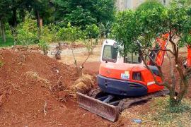 Vecinos de Deià se movilizan contra la construcción de un aparcamiento en Can Vallès