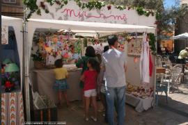 Arte, tapas y vino se dan cita en la VII Mostra d'Art i Artesania de Santanyí