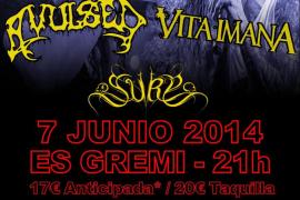 Avulsed, Vita Imana y Suru, dosis de música metal en Palma