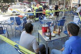El okupa que apuñaló a otro en la Plaça d'Espanya intentó volver a huir al ser descubierto