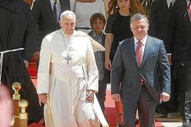 El Papa hace un llamamiento «urgente» a la paz en Tierra Santa