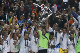 El Real Madrid apela a la épica para conseguir su décima Copa de Europa