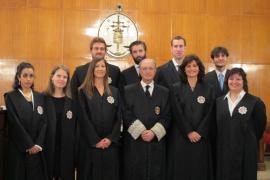 Juran el cargo nueve jueces que refuerzan la Audiencia, Instrucción y Mercantil