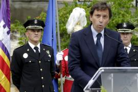 Joan Mut toma posesión de su cargo como nuevo jefe de la Policía Local de Palma