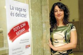 Concentraciones «por el derecho de huelga» y en apoyo a Katiana Vicens