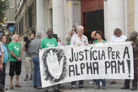 La Audiencia exige una fianza «motivada» en el 'caso Alpha Pam'