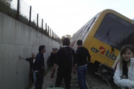 Cuatrocientos metros del muro del tren entre s'Enllaç y Manacor pueden ser defectuosos