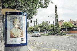 PalmaPhoto sale a la calle exponiendo en espacios destinados a la publicidad