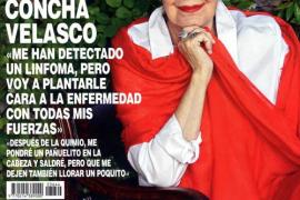 Concha Velasco anuncia que le han detectado un linfoma