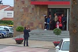 Boda de Josep Guardiola y Cristina Serra en el ayuntamiento de Matadepera