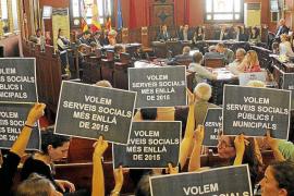 Trabajadores sociales denuncian que el retraso de las ayudas provoca desahucios