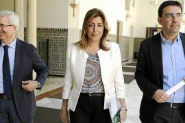 La mayoría de 'barones' dan su apoyo a Susana Díaz para que lidere el PSOE