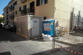 Unos vecinos de Lloseta denuncian las molestias que les provocan unas obras