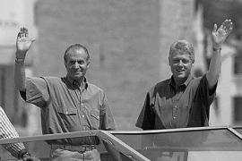 VACACIONES DE LA FAMILIA REAL EN MALLORCA con bill Clinton