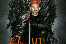 La abdicación del Rey en Internet