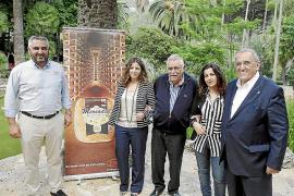 Presentación de 'Grandes vinos, grandes quesos' en los Jardines de Alfàbia
