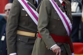 El Rey y el Príncipe aparecen juntos tras la abdicación