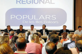 Bauzá da más poder a Gómez en el PP, que será jefe de campaña de las autonómicas
