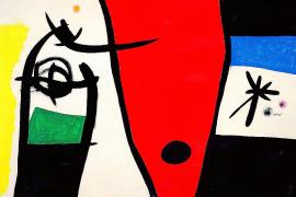 Cuadros de Miró, en el final de las subastas de primavera en Londres