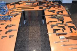 Varias armas intervenidas a Pujadas estaban en manos de grupos criminales