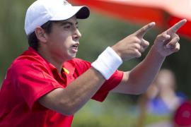 Jaume Munar, en la final de Roland Garros