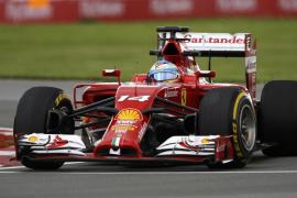 Alonso domina los primeros libres en Montreal