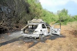 Hallan a un hombre con quemaduras graves en Llucmajor tras arder su coche