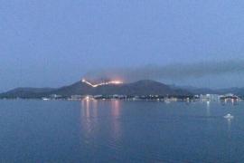 Controlado el incendio en el Puig de Sant Martí tras quemar 19 hectáreas