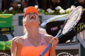 Sharapova gana frente a Halep su segundo Roland Garros