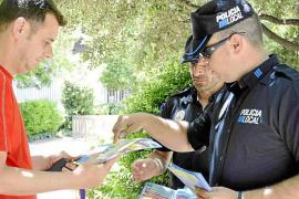 La policía informa pero aún no multa con la Ordenanza de Convivencia